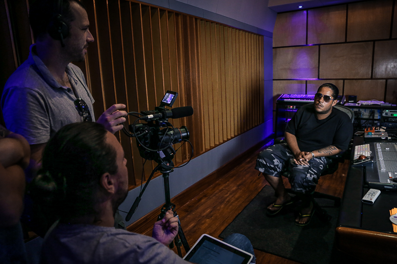 Interviewing Don Corleon at Hitmaker Studios
