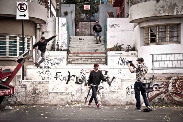 Matt Phipps working on an issue of Skaters Atlas | DREAMA TV